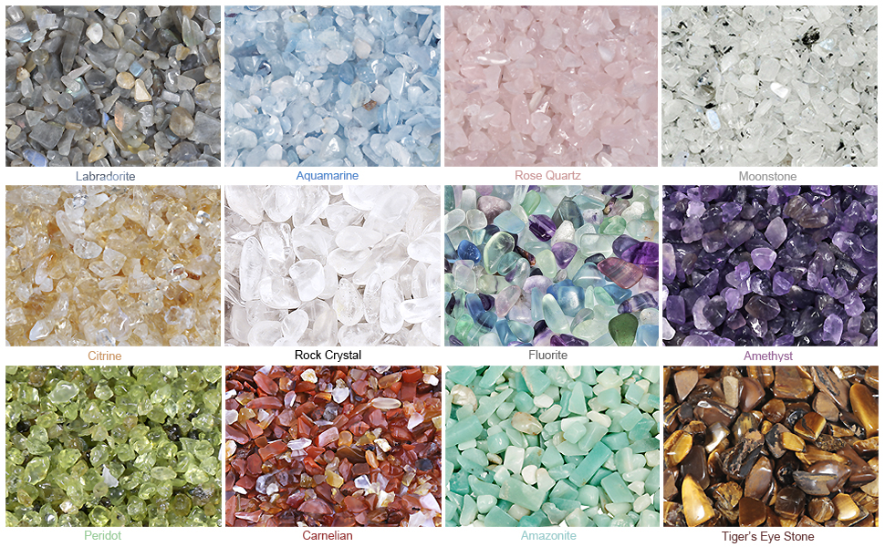 Natural Quartz Crystal Crushed Stones