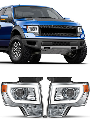 for ford f-150 projector headlights