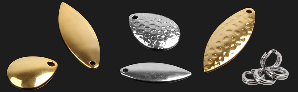 Fishing Spoons Blades Spinner