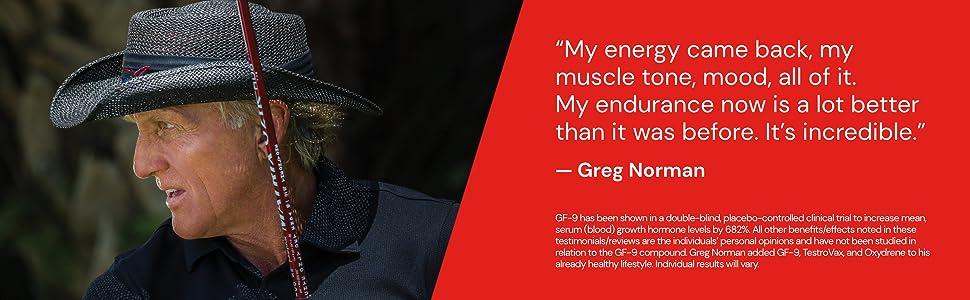 Greg norman testimony