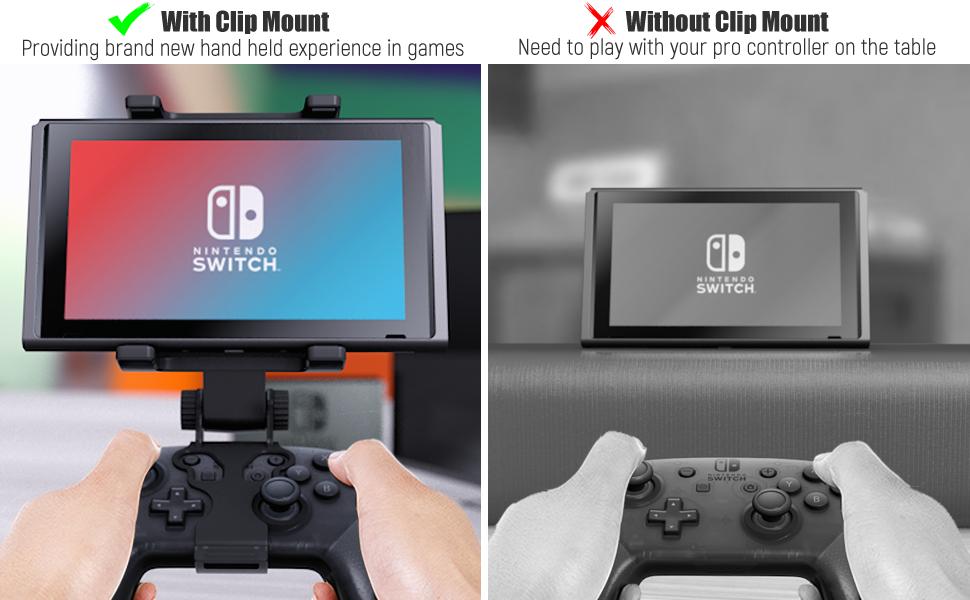 nintendo switch pro controller clip mount clip clamp holder for nintendo switch pro controller