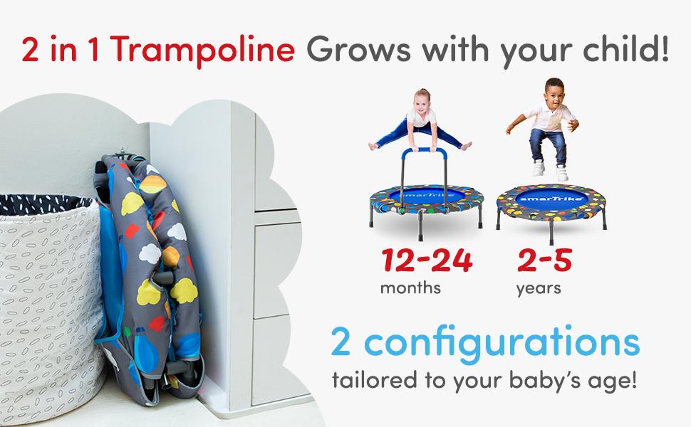 trampoline stages
