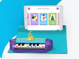 Piano - Plugo Tunes By PlayShifu - Piano Learning Kit Musical STEAM Toy For Ages 5-10 - Educational Music Instruments Gift For Boys & Girls (App Based)