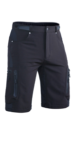 hiking pants for men outdoor summer lightweight drying quickly with zipper pocket travel pant