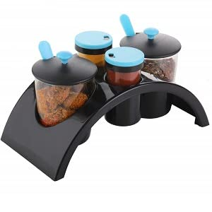 spice and pickle achar jar rack tray set of 4