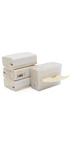 Bamboo facial tissue with box