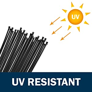UV Resistant zip ties
