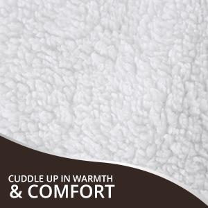 Sherpa Flannel Comforter