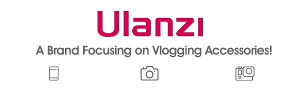 Ulanzi Only for Vlogging Accessaries