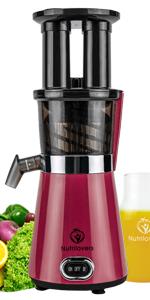 nutrilovers logo deutsche marke hersteller für slow juicer und entsafter slow juicing entsaften Pink