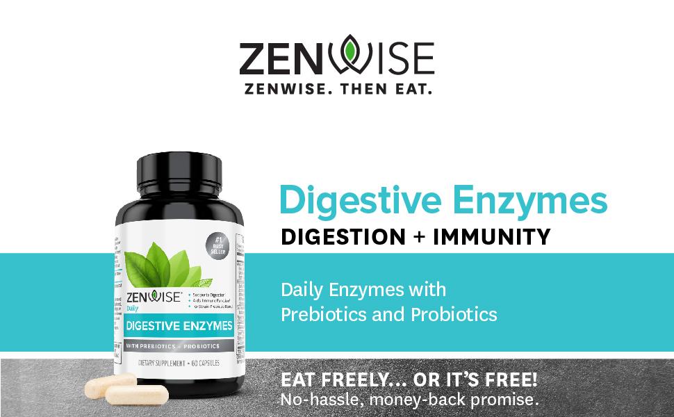 Digestive Enzymes, Zenwise Health