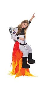 Kids Flying Astronaut Suit