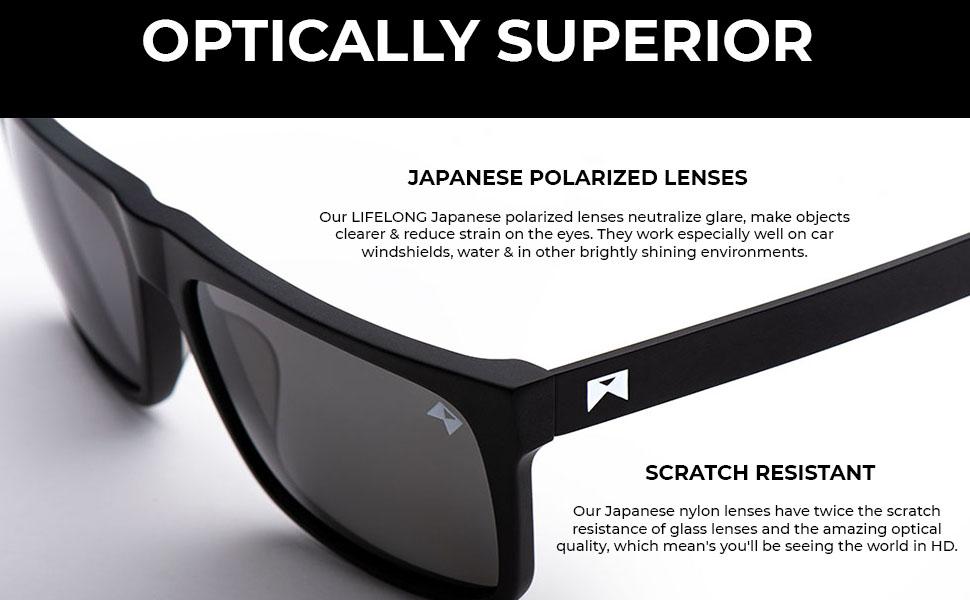 scratch resistance sunglasses