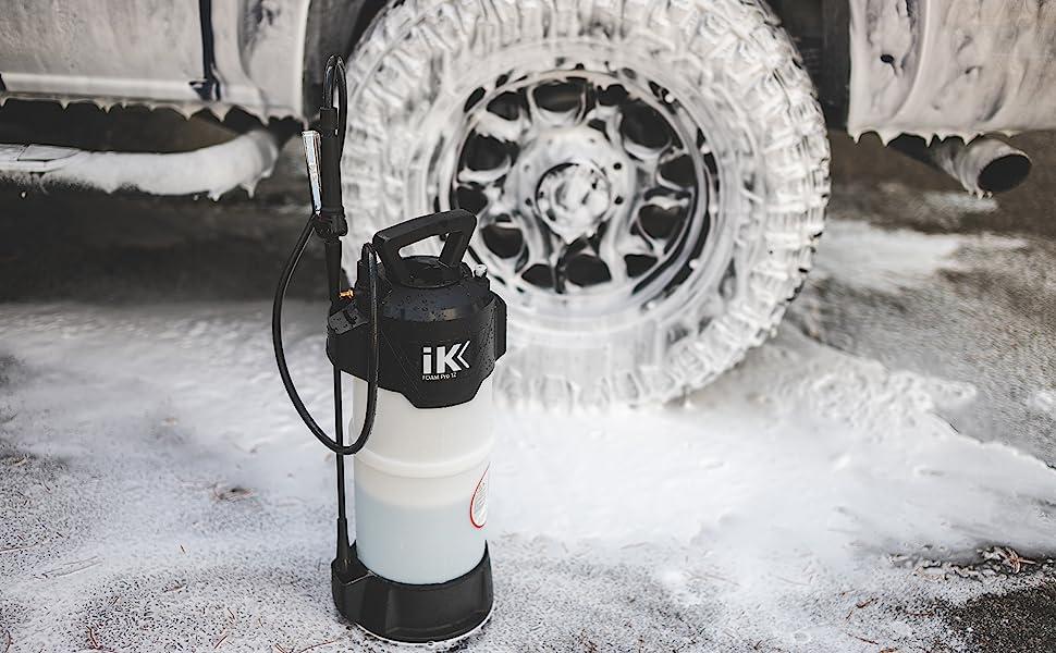 iK Foam Pro 12 Pump Sprayer Foam Foamer The Rag Company Microfiber Towel Auto Detailing