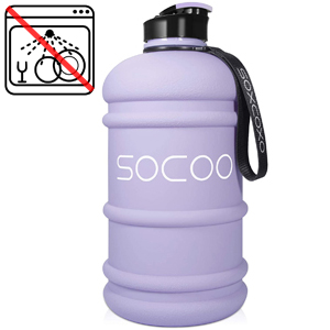 water bottle purple