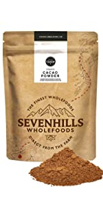 Sevenhills Wholefoods Cacao En Polvo Orgánico