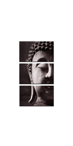 buddha wall art canvas for living room buddhism canvas painting framed