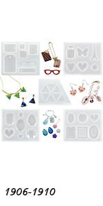 Jewelry Making Resin Molds Set
