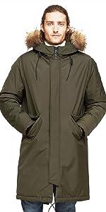 Mens Waterproof Jacket Business