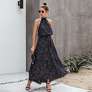 boho maxi dresses for women