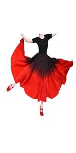 Gradient Flamenco Skirt