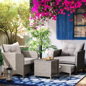 5 Pieces patio furniture set