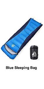 Sovsäckar kuvert sovsäck vattenavvisande rektangulär vinter varm sovsäck