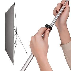 x-drop backdrop wrinkle resistant instant setup