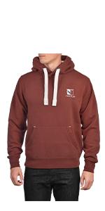 Noctua NP-H1.brown SIZE S Brown Unisex Premium Hoodie Sweatshirt
