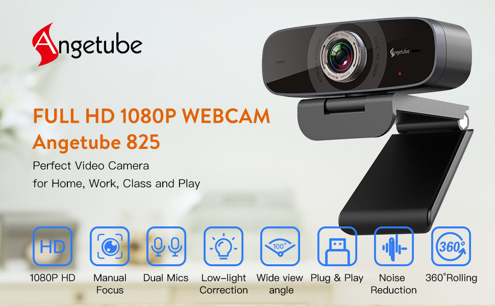 1080p 60fps webcam webcam with microphone camera live streaming xbox one computer hd 1080 webcam