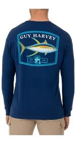 huy harvey, long sleeve top, fishing top, fishing tee, long sleeve tee, mens apparel, mens tee, top