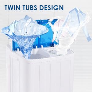 Twin Tubs Design