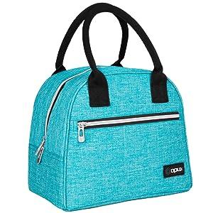 Insulated lunch bag box small medium capacity
