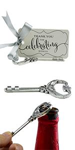key opener wedding favor bottle opener party favors wedding bottle opener favors with tags