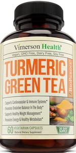 Turmeric Green Tea Vitamin C Vimerson Health