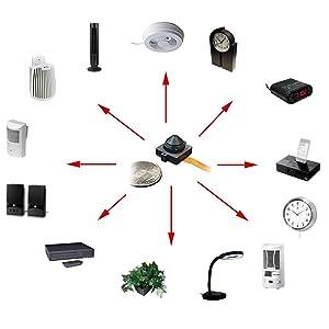 SCS wifi spy camera models set 3