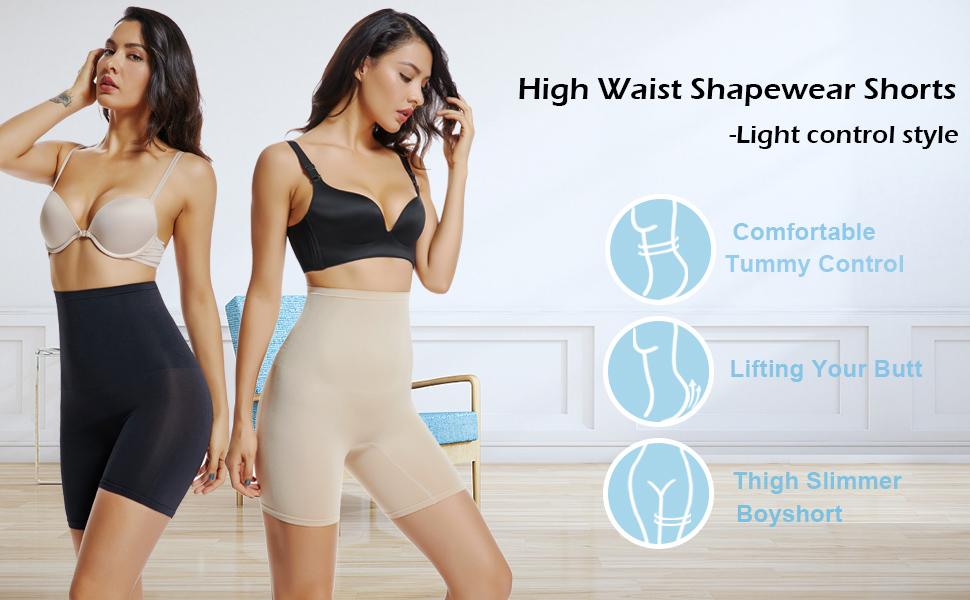 tummy control shapewear shorts