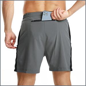 shorts with rear pocket