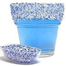 blue salt, margarita salt, rimming salt, bar salt, restaurant salt
