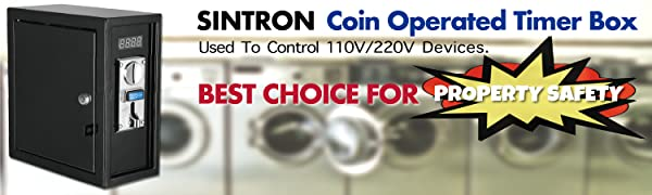 Sintron Coin Operated Timer Box