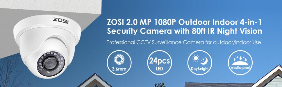 zosi 1080p 4 in 1 security camera