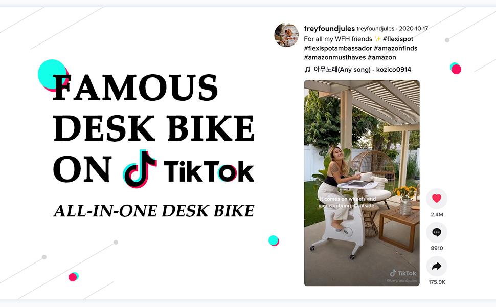 all-in-one desk bike