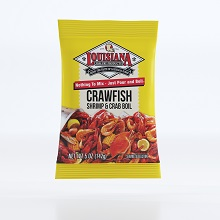 Crawfish shrimp and crab boil