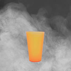 Monteluz - Juego de 18 Vasos de Plástico Reutilizables Duros y ...