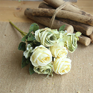 artificial gree rose flower artificial roses