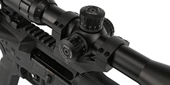primary arms 4-16x riflescope mil-dot optic sight rifle parallax adjustment locking turrets 1/4 moa