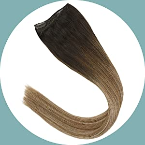 clip on hair extensions human hair