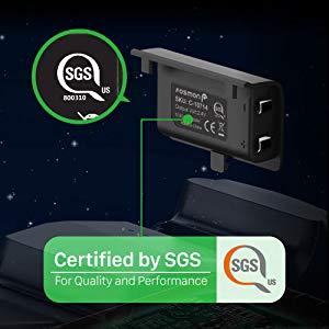 SGS Certified Batteries and Charging Dock