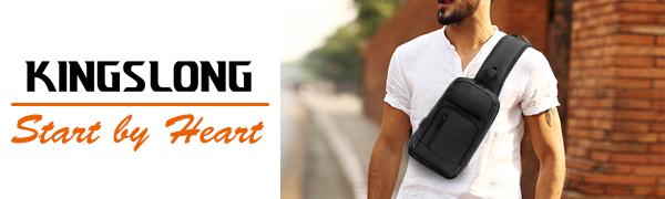 sling bag chest crossbody backpack purse bag men women purse backpack bag small large waterproof