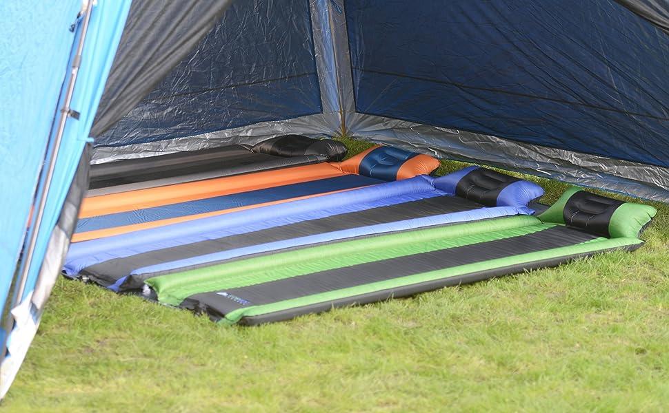 sleeping pad camping pad camping mattress self inflating sleeping pad for camping cots tent hammock